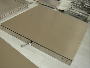 不锈钢单层电子平台秤